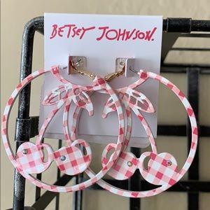 Betsey Johnson 🍒Cherry-picking🍒Earrings
